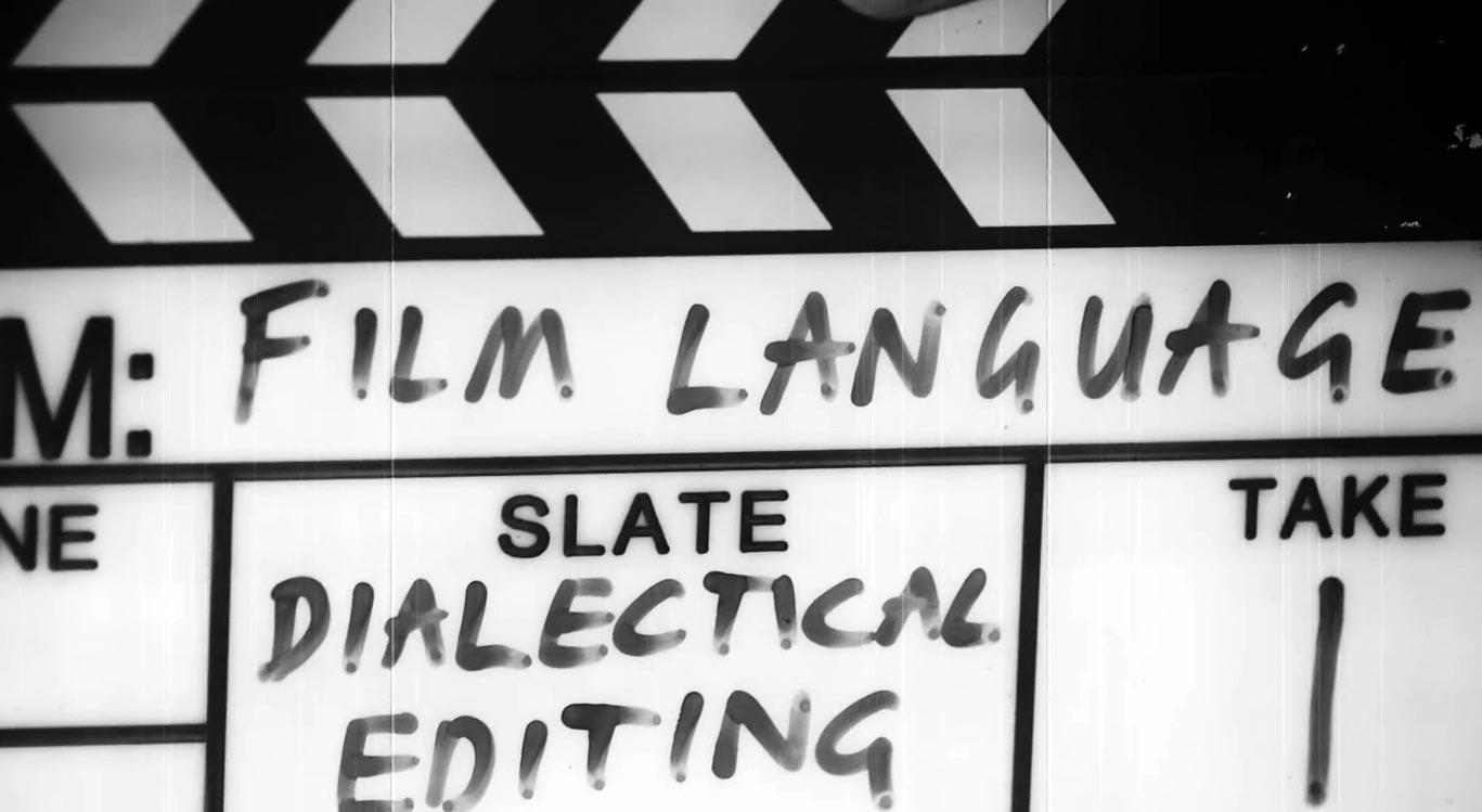 clapperboard dialectical editing