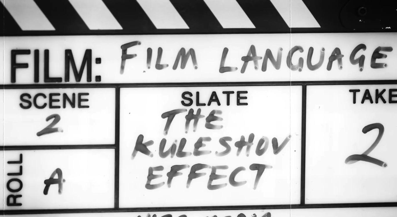 clapperboard Kuleshov effect