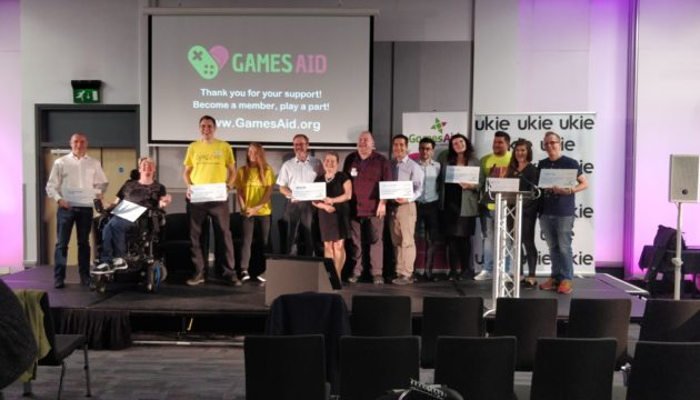 GamesAid ceremony
